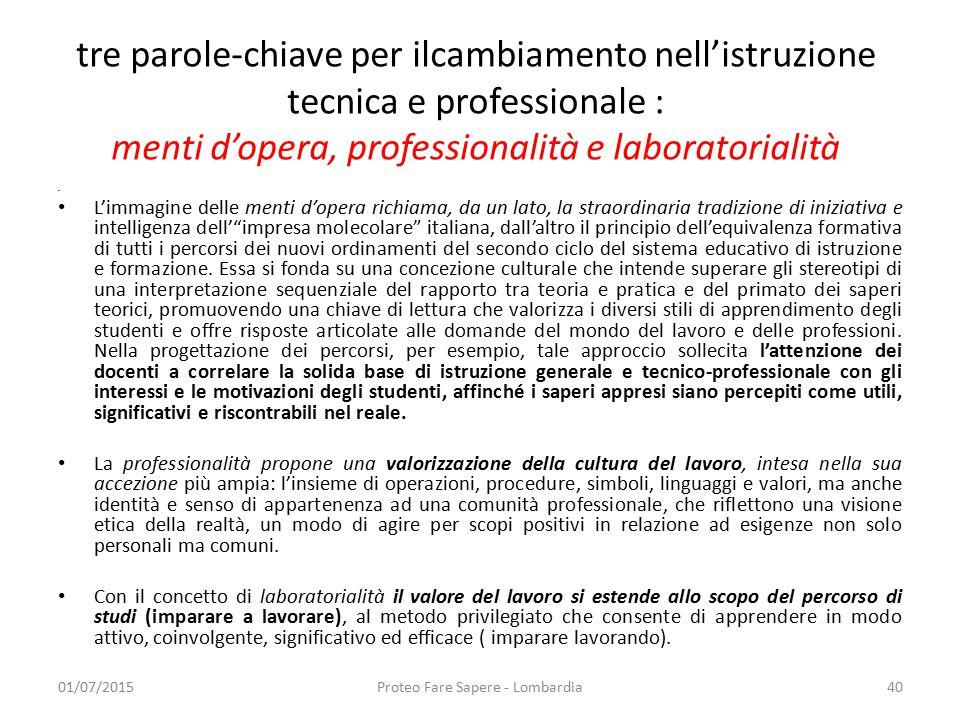 Proteo Fare Sapere - Lombardia