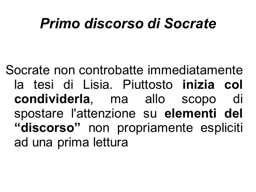 Primo discorso di Socrate