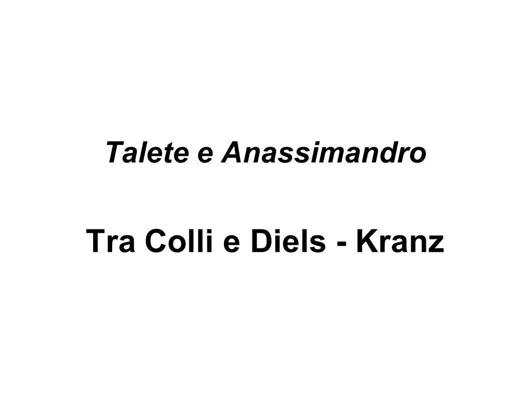 Tra Colli e Diels - Kranz