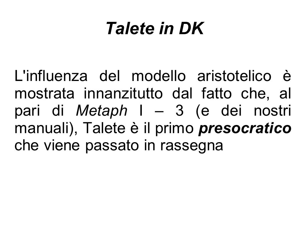 Talete in DK