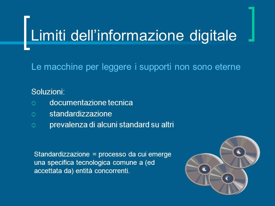 Limiti dell'informazione digitale
