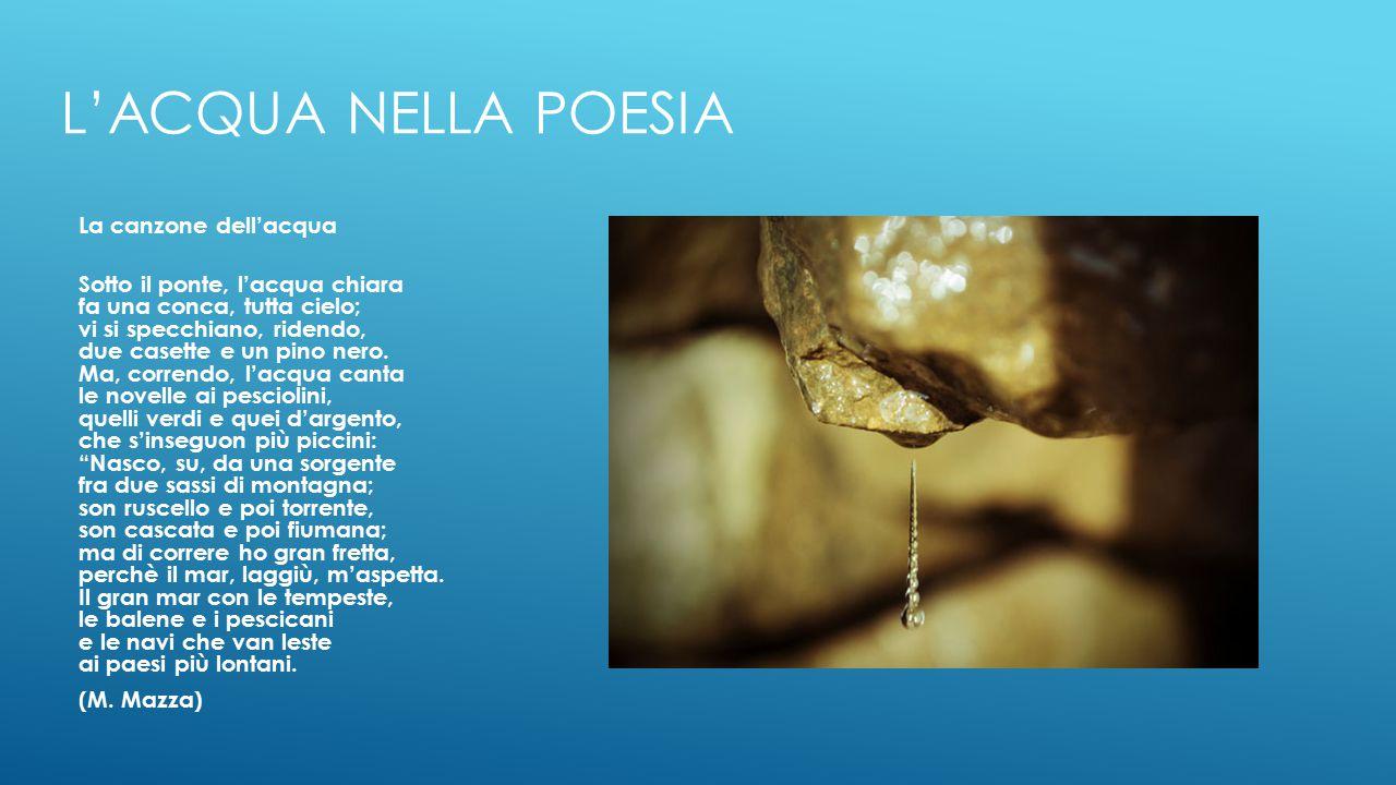 L'acqua nella poesia