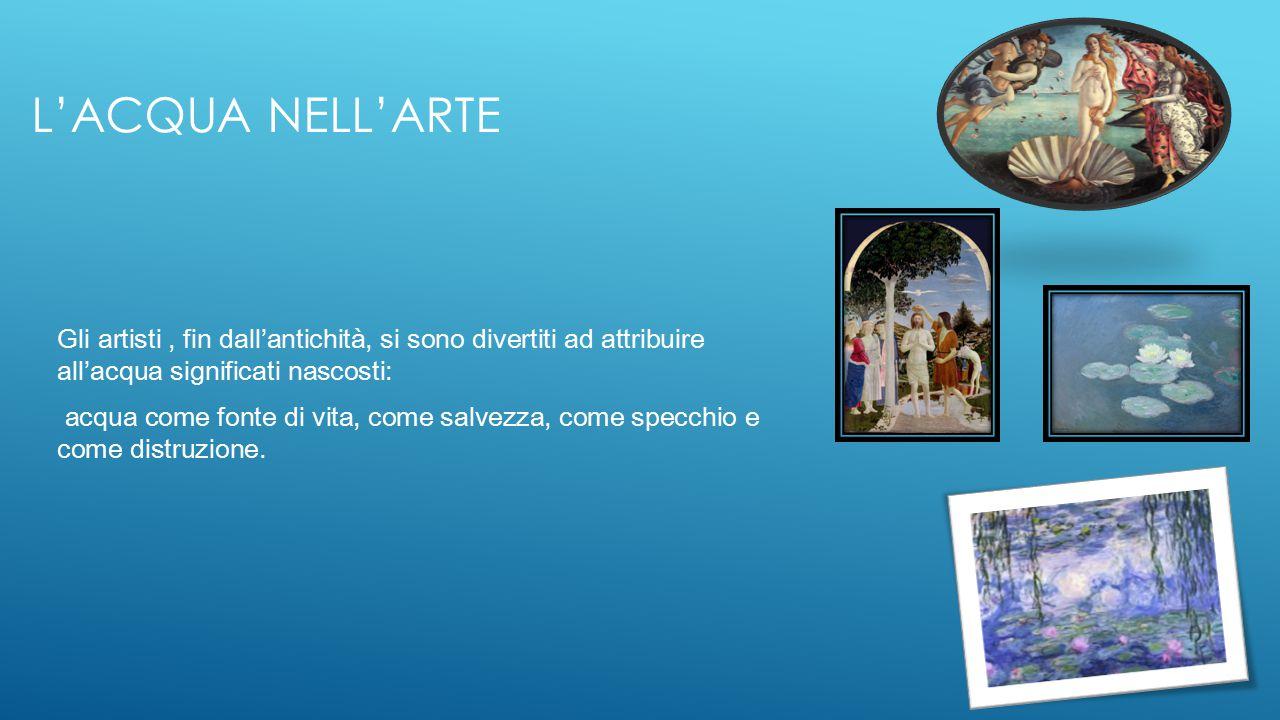 L acqua progetto scuola sant anna classe ii ppt video online scaricare - Lo specchio nell arte ...