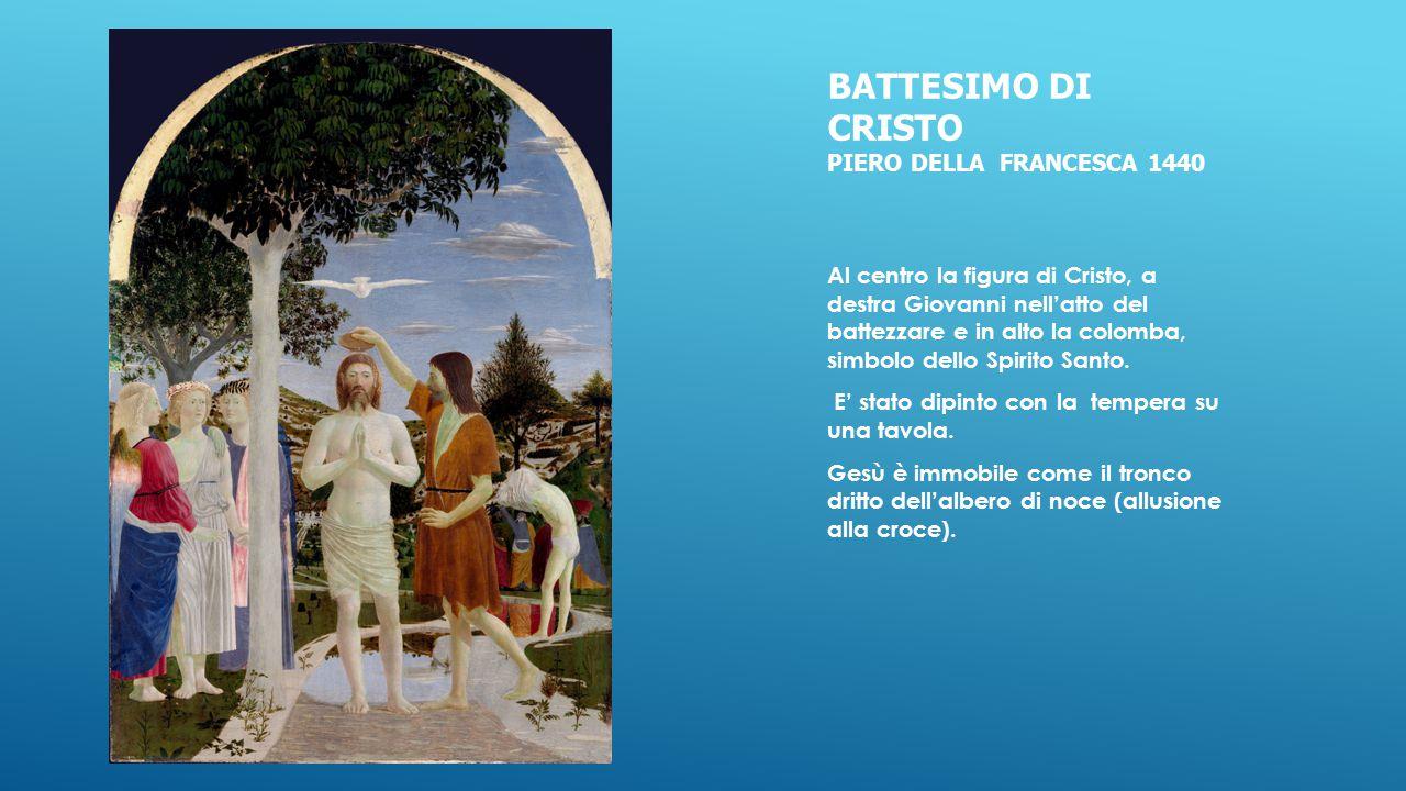 Battesimo di cristo piero della francesca 1440