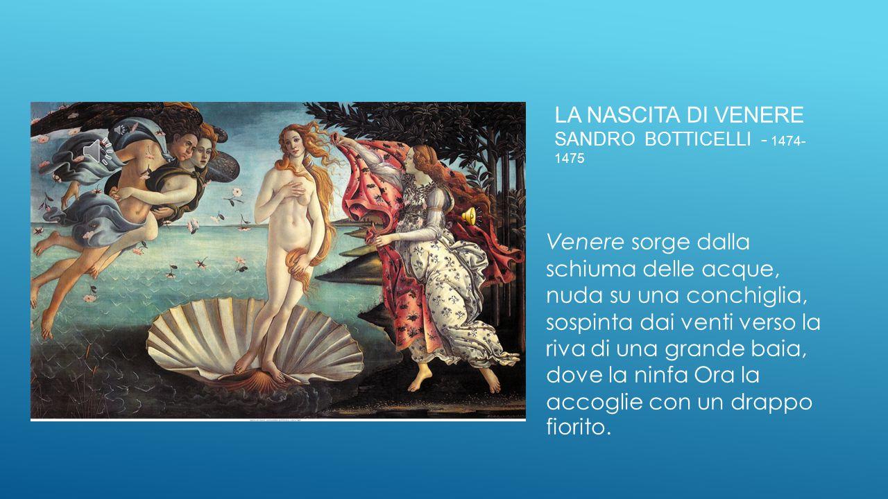 La nascita di venere sandro botticelli - 1474-1475