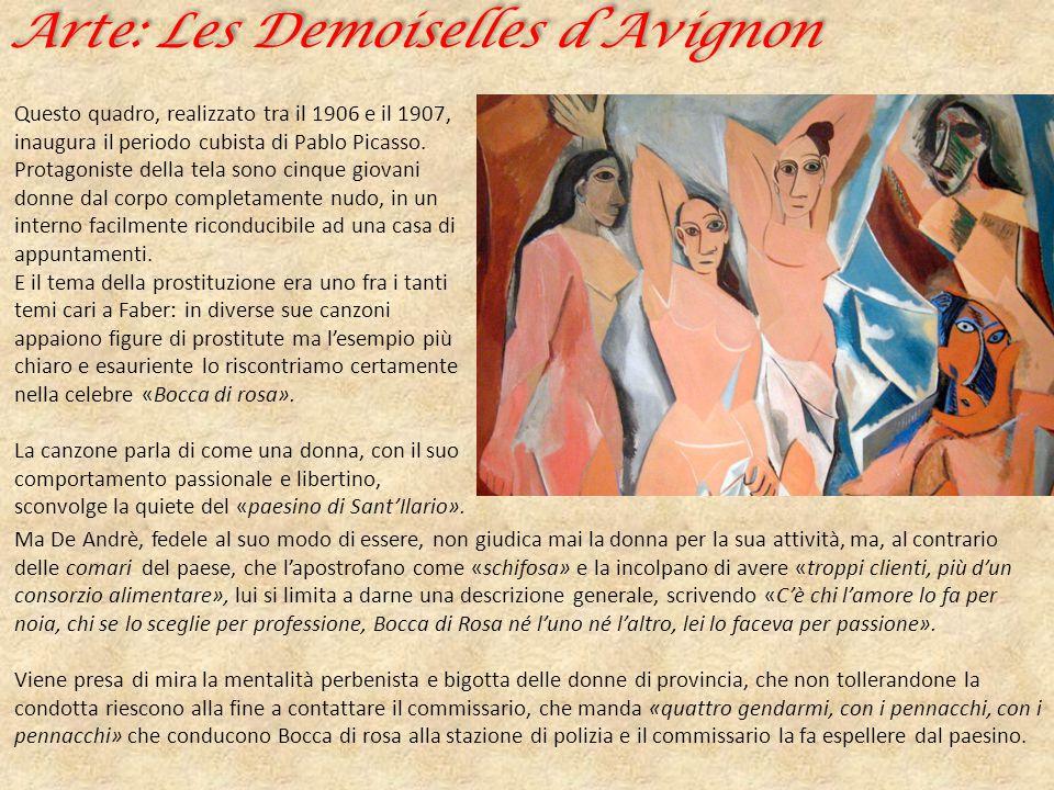 Arte: Les Demoiselles d'Avignon