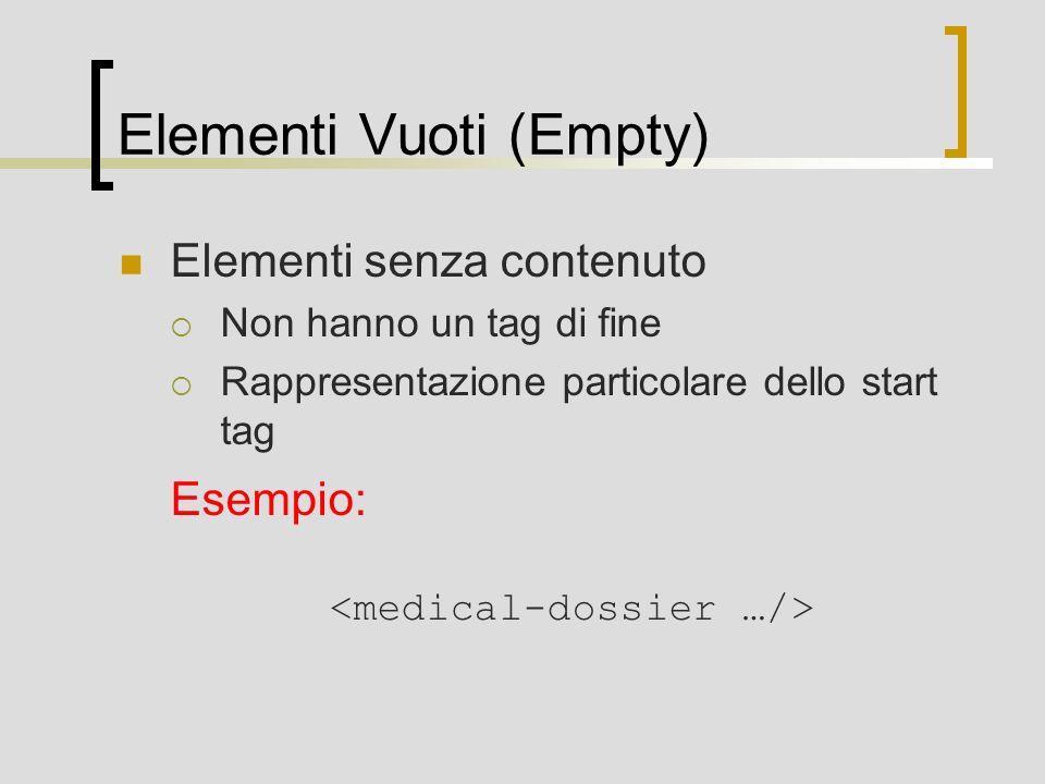 Elementi Vuoti (Empty)