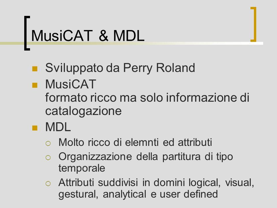 MusiCAT & MDL Sviluppato da Perry Roland