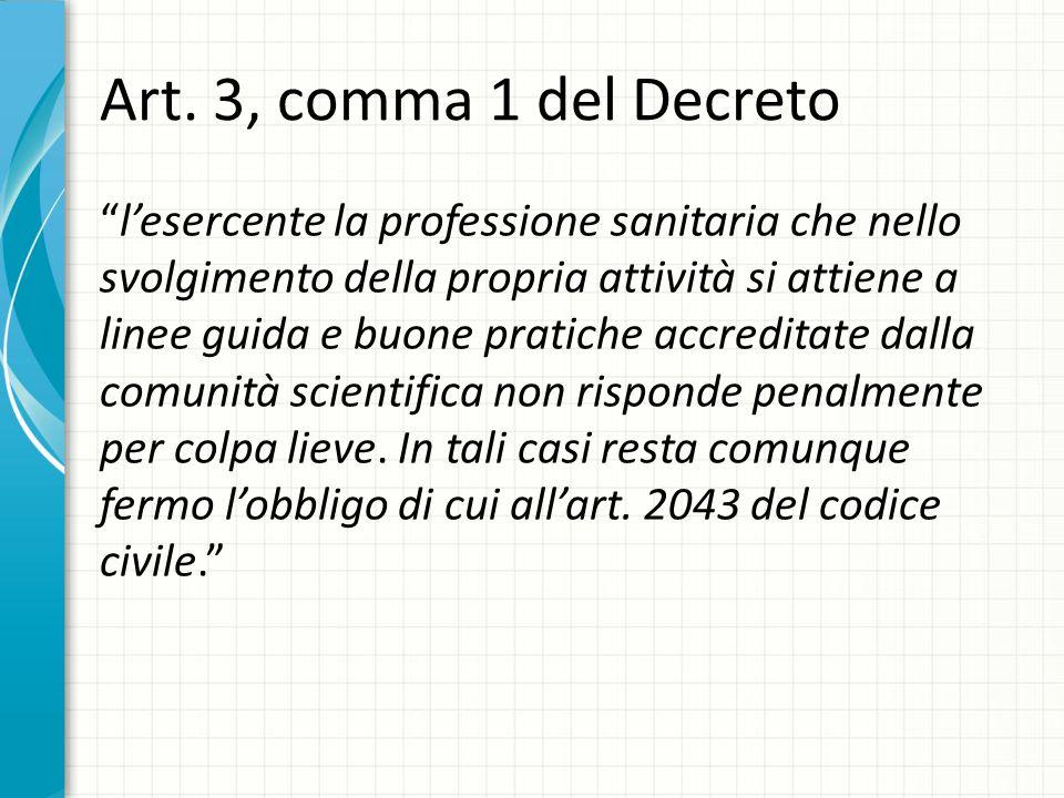 Art. 3, comma 1 del Decreto