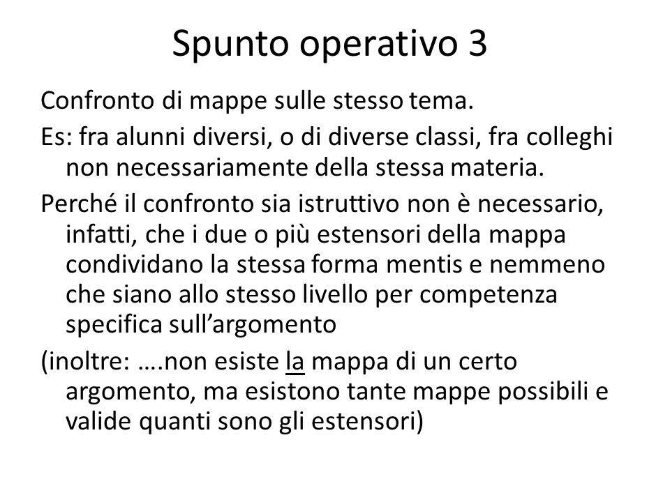 Spunto operativo 3
