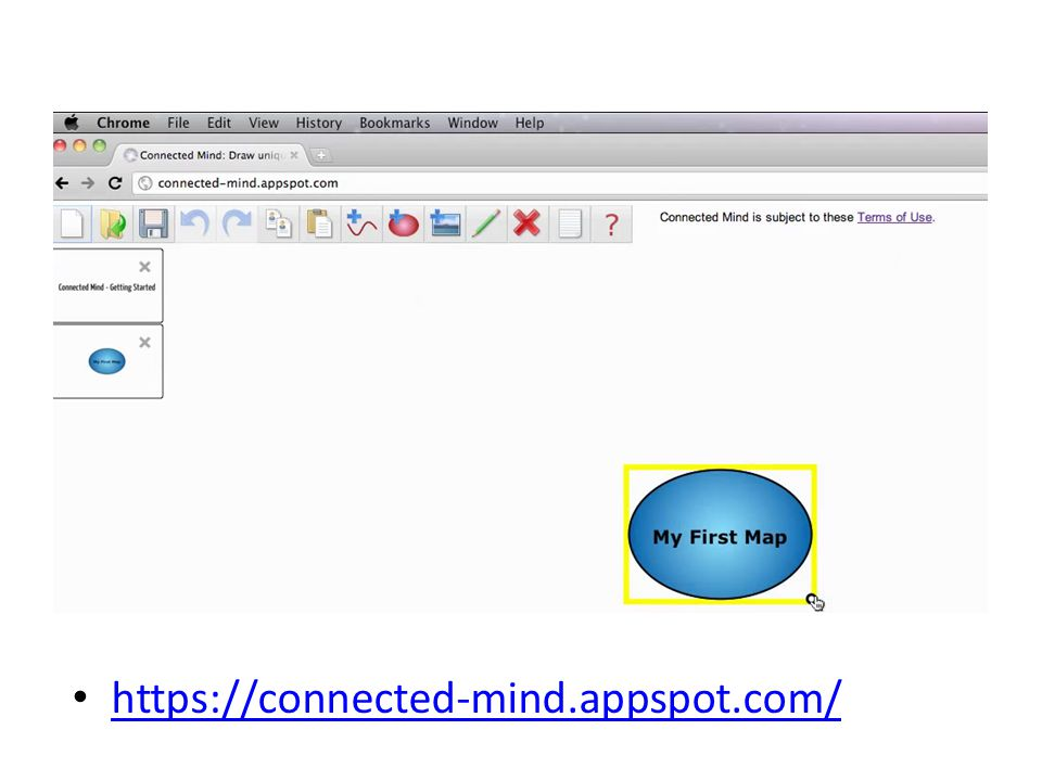 https://connected-mind.appspot.com/