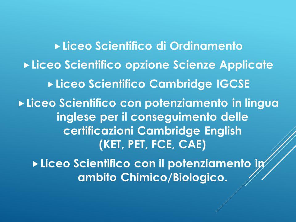 Liceo Scientifico di Ordinamento