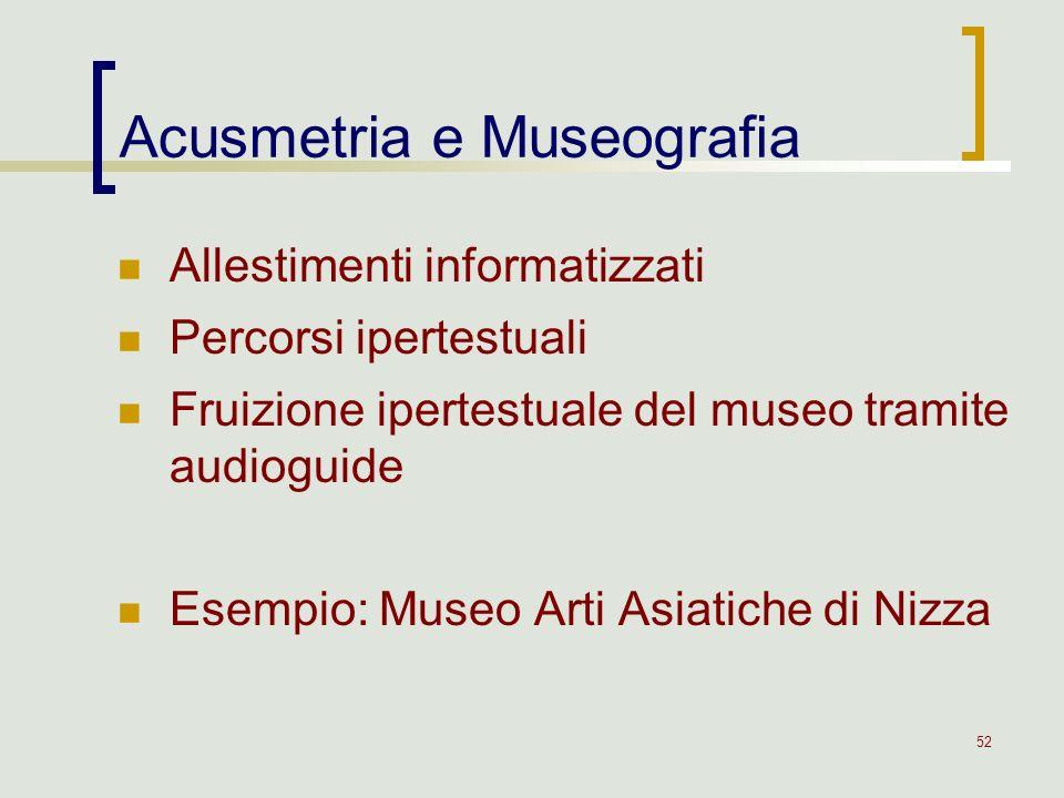 Acusmetria e Museografia