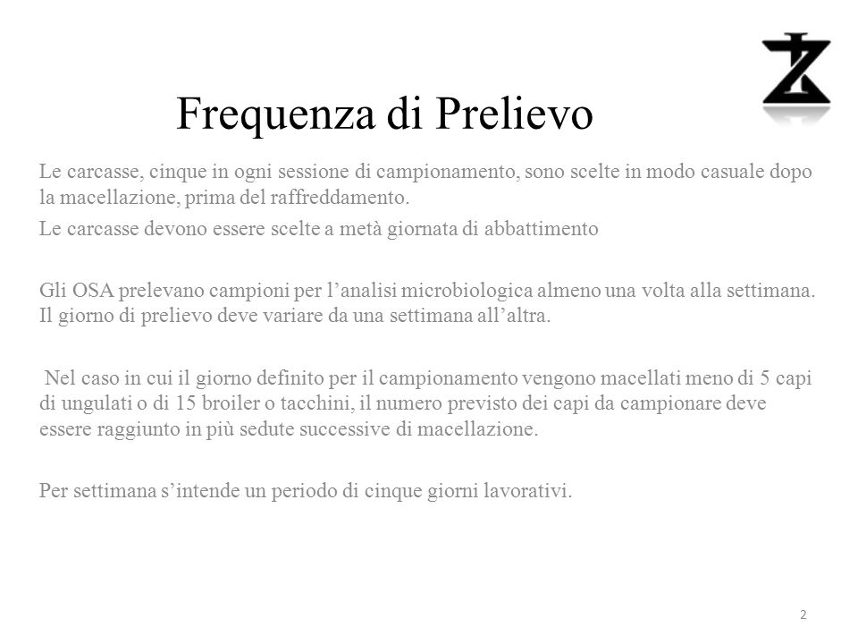 Frequenza di Prelievo