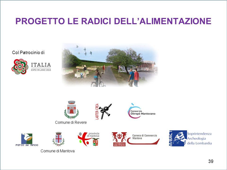 PROGETTO LE RADICI DELL'ALIMENTAZIONE