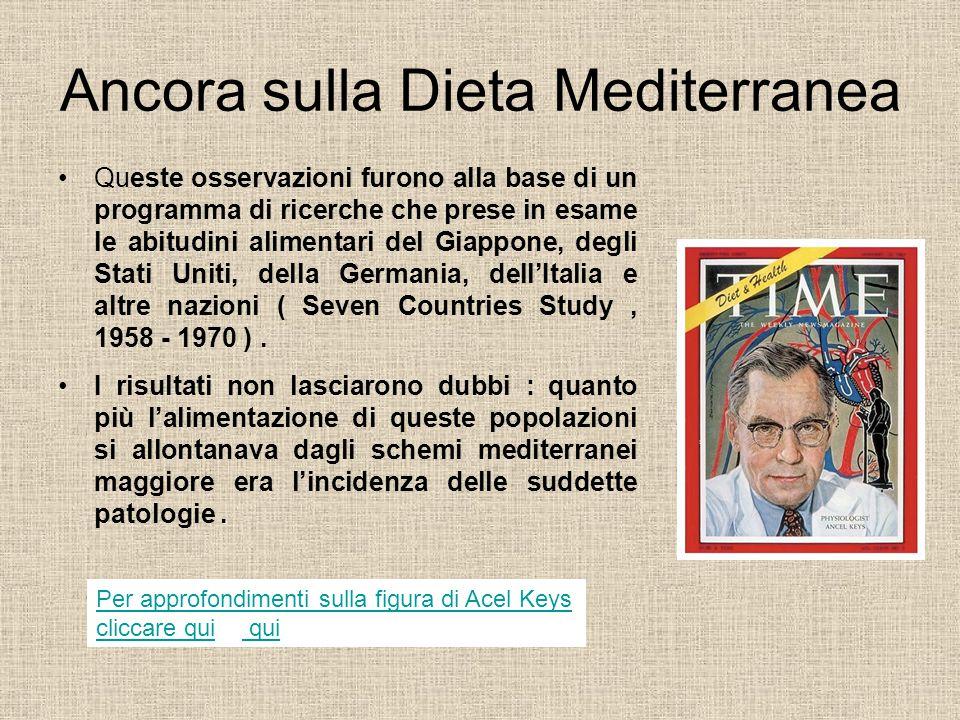 Ancora sulla Dieta Mediterranea