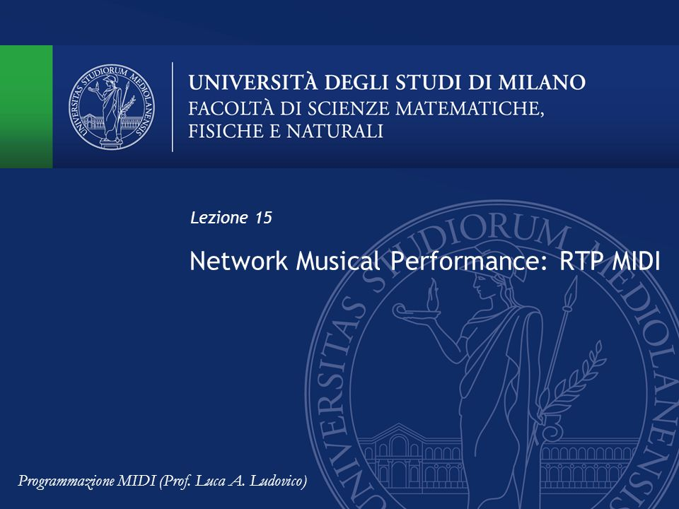 Network Musical Performance: RTP MIDI