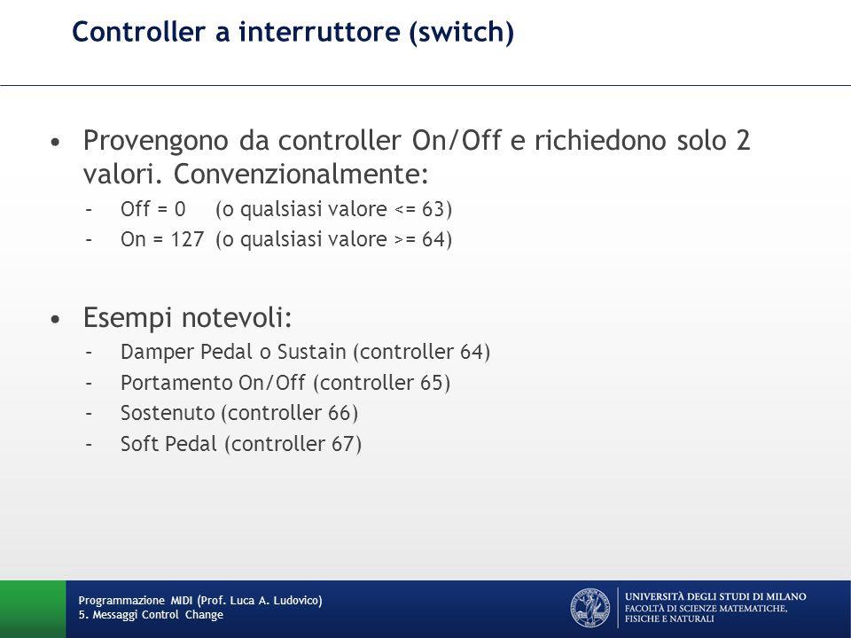 Controller a interruttore (switch)