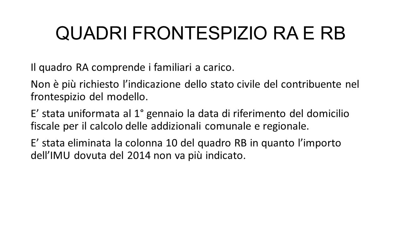 QUADRI FRONTESPIZIO RA E RB