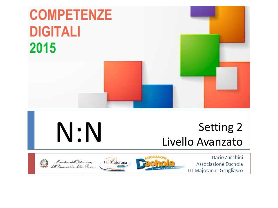 Setting 2 Livello Avanzato