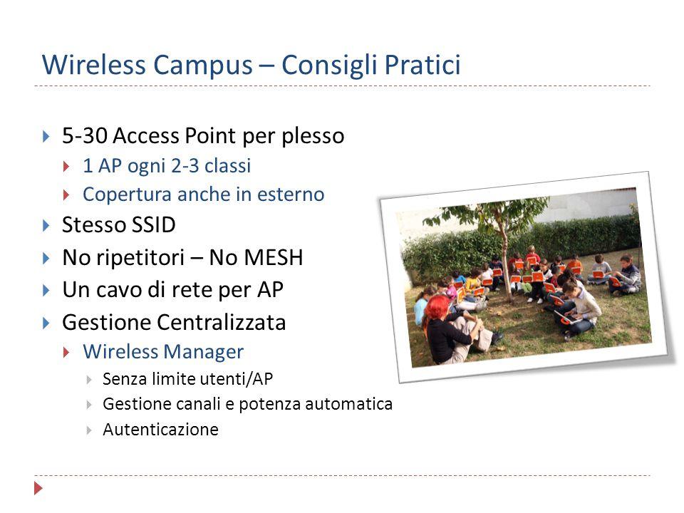 Wireless Campus – Consigli Pratici