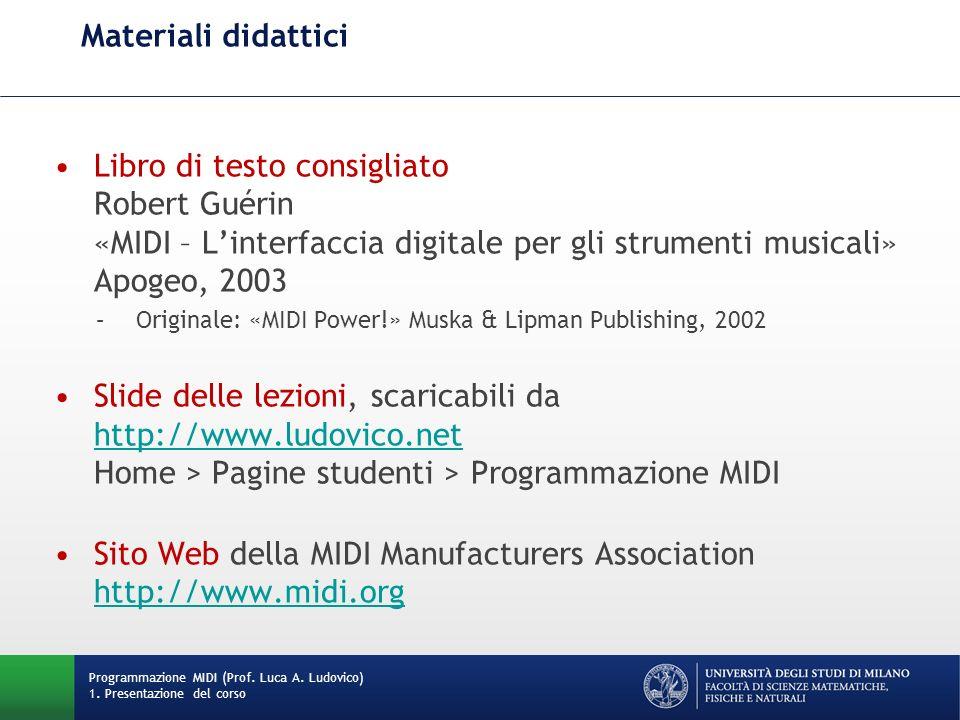 Sito Web della MIDI Manufacturers Association http://www.midi.org