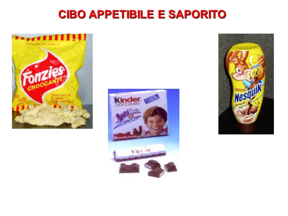 CIBO APPETIBILE E SAPORITO