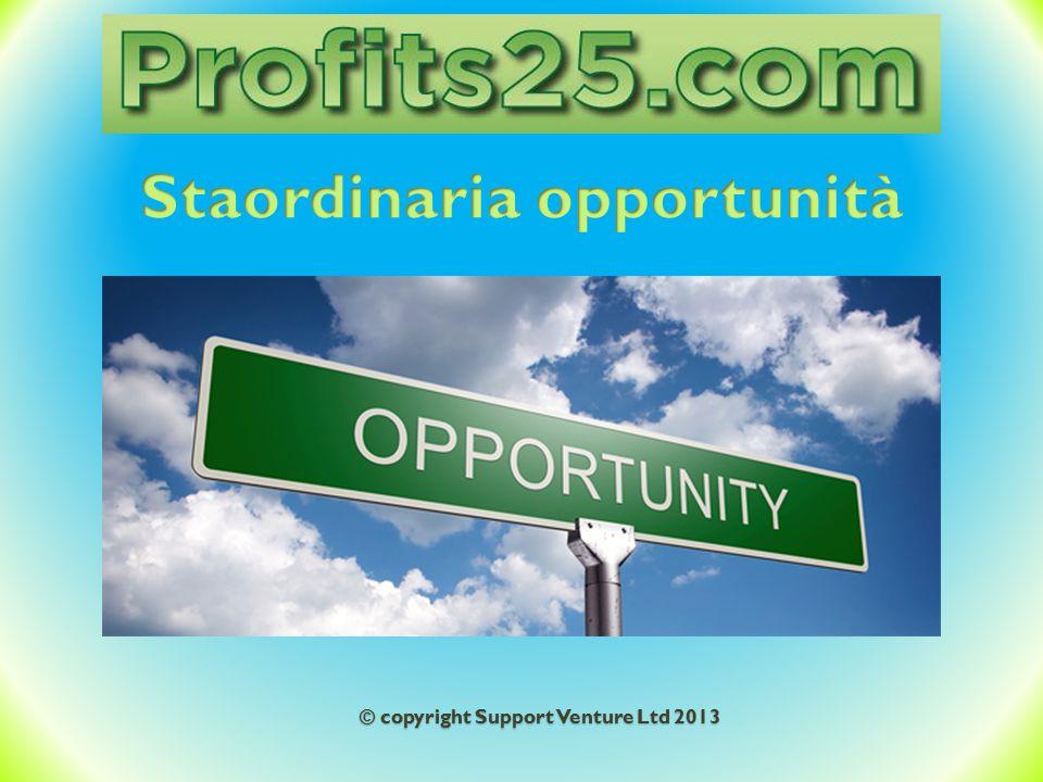 Staordinaria opportunità