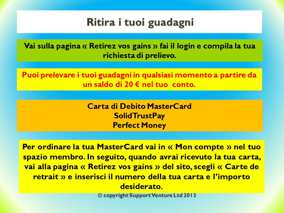 Carta di Debito MasterCard