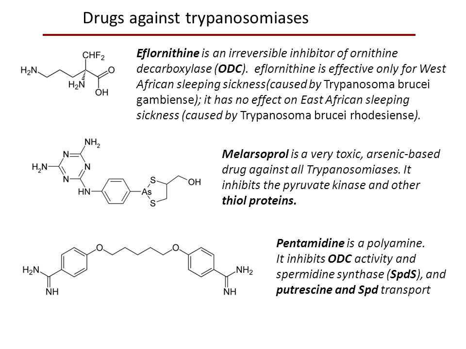 Drugs against trypanosomiases