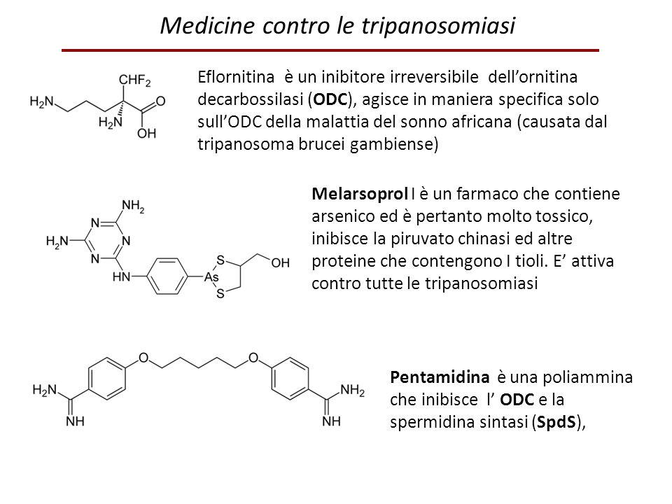 Medicine contro le tripanosomiasi