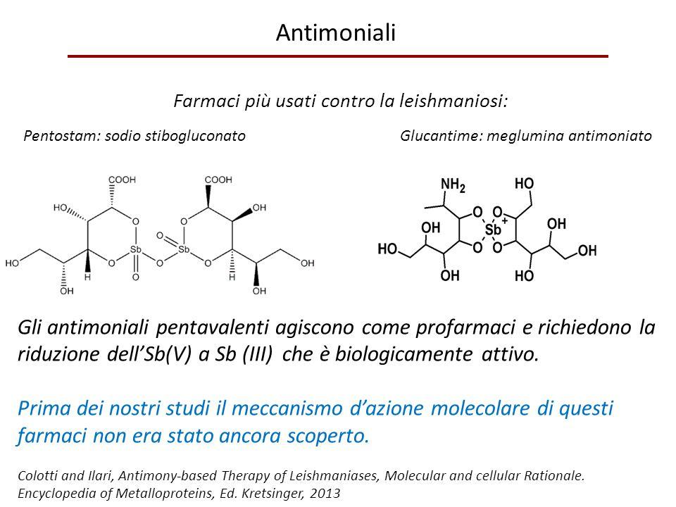 Farmaci più usati contro la leishmaniosi: