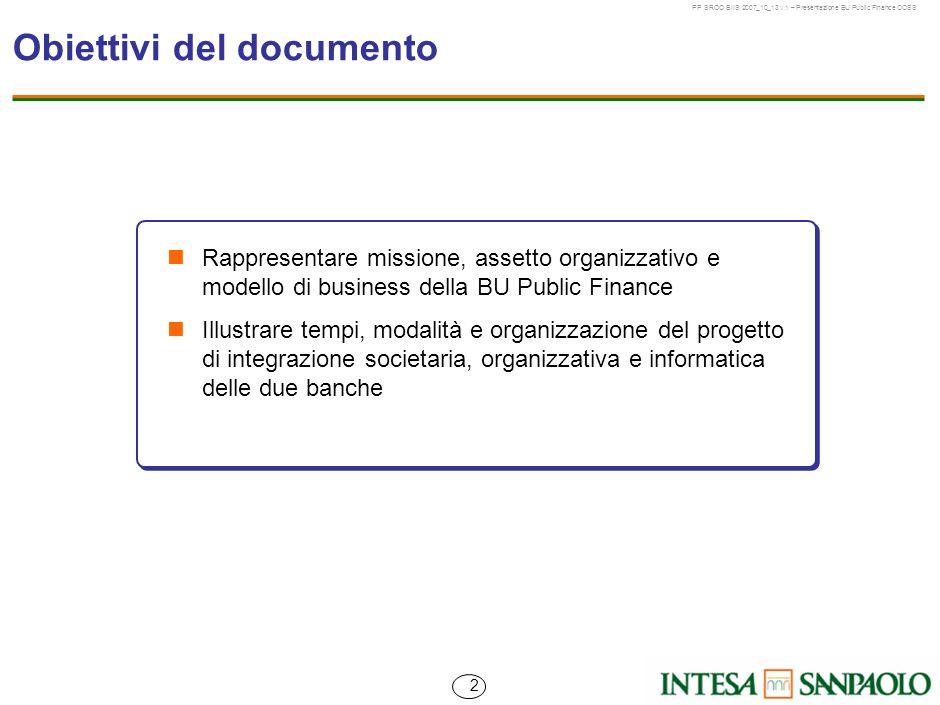 Obiettivi del documento