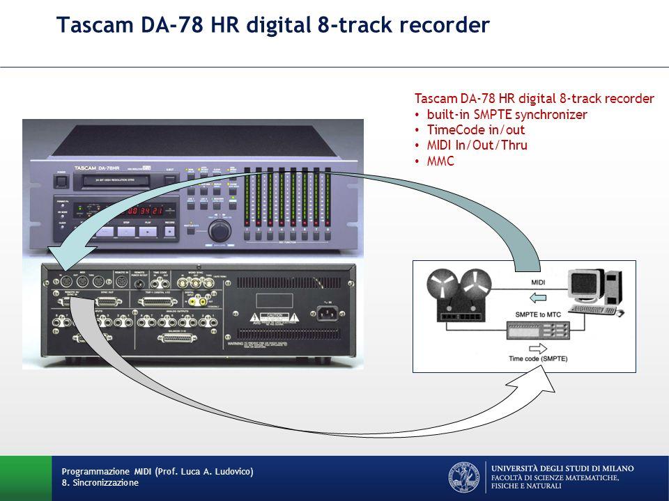 Tascam DA-78 HR digital 8-track recorder