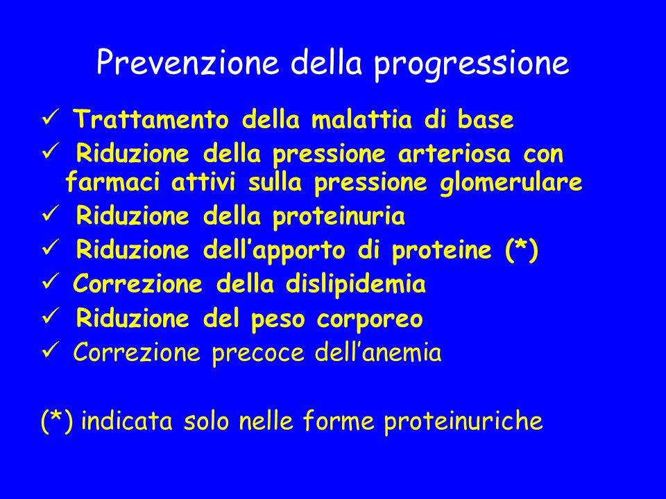Prevenzione della progressione