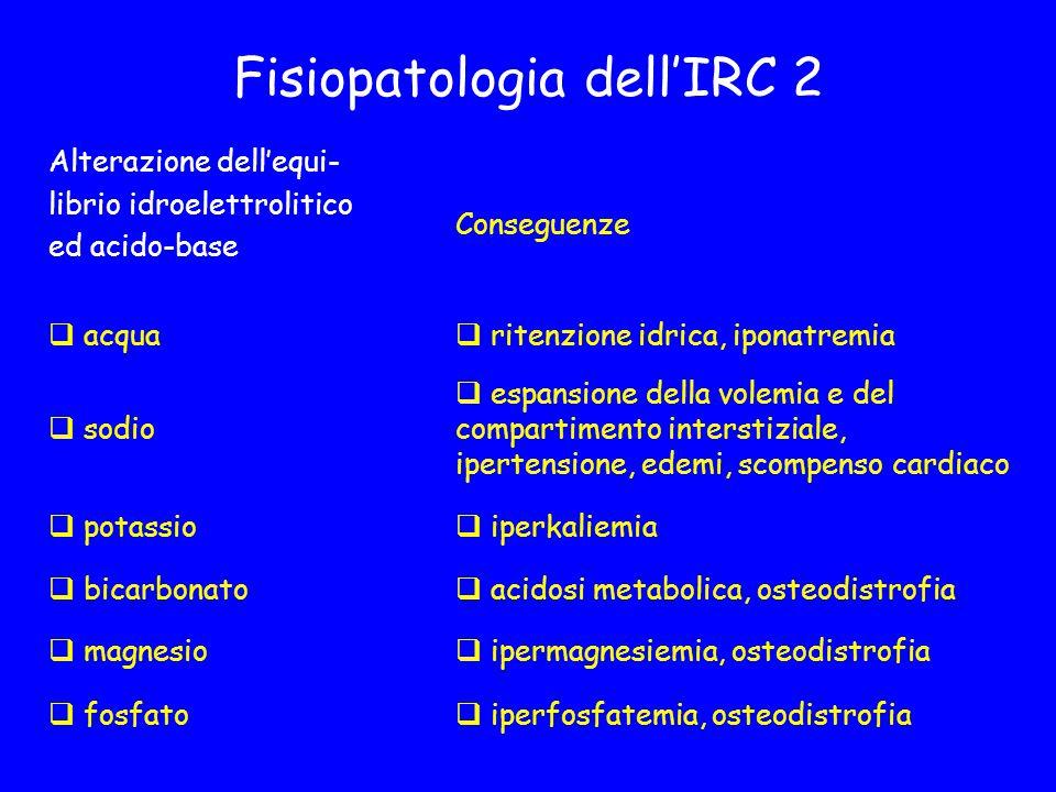 Fisiopatologia dell'IRC 2