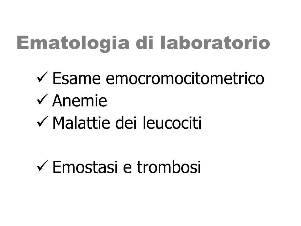 Ematologia di laboratorio