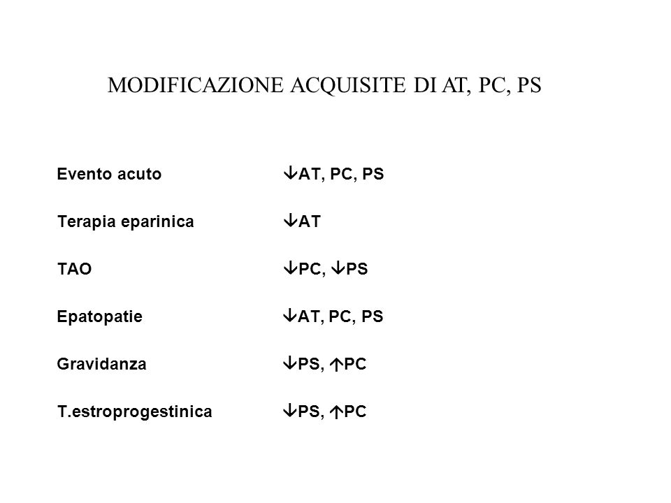 MODIFICAZIONE ACQUISITE DI AT, PC, PS