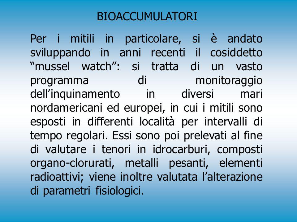 BIOACCUMULATORI