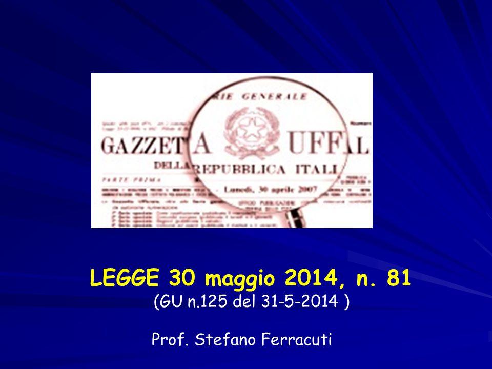 Prof. Stefano Ferracuti