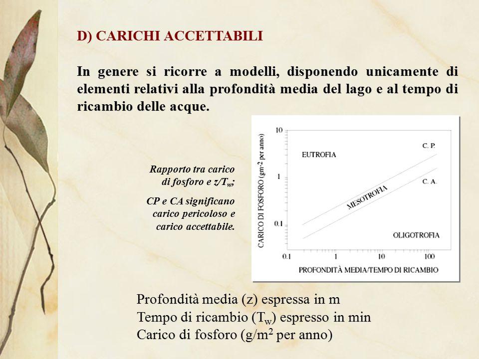 D) CARICHI ACCETTABILI