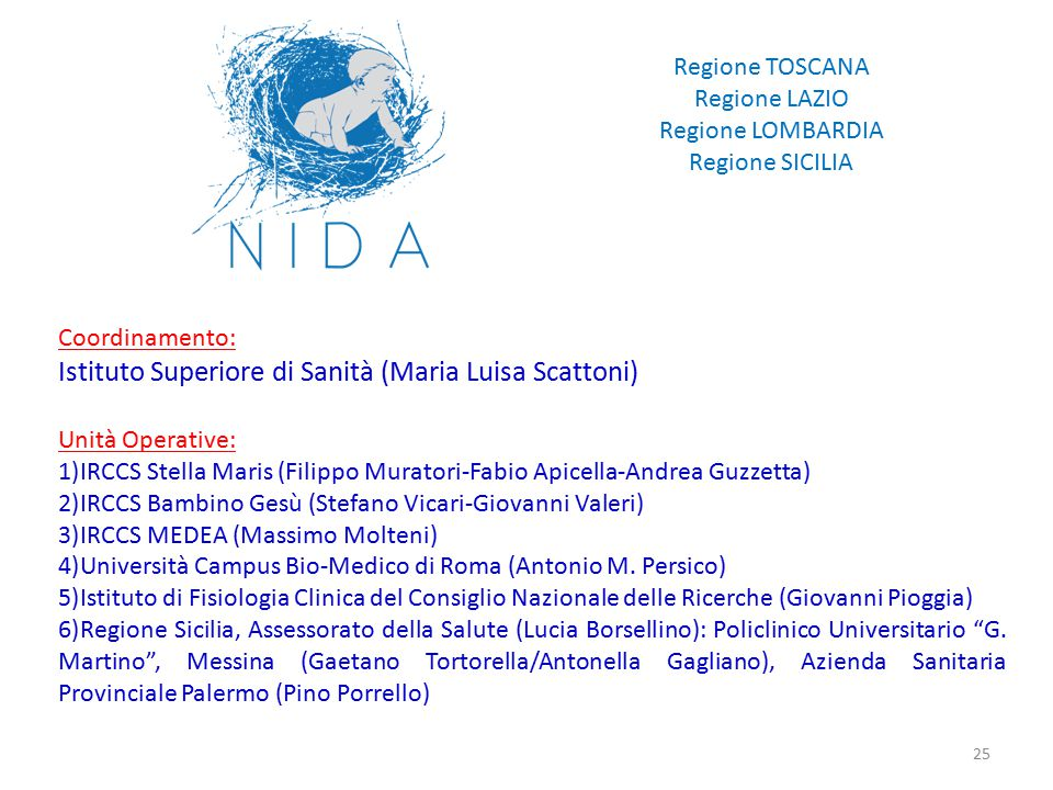 Istituto Superiore di Sanità (Maria Luisa Scattoni)
