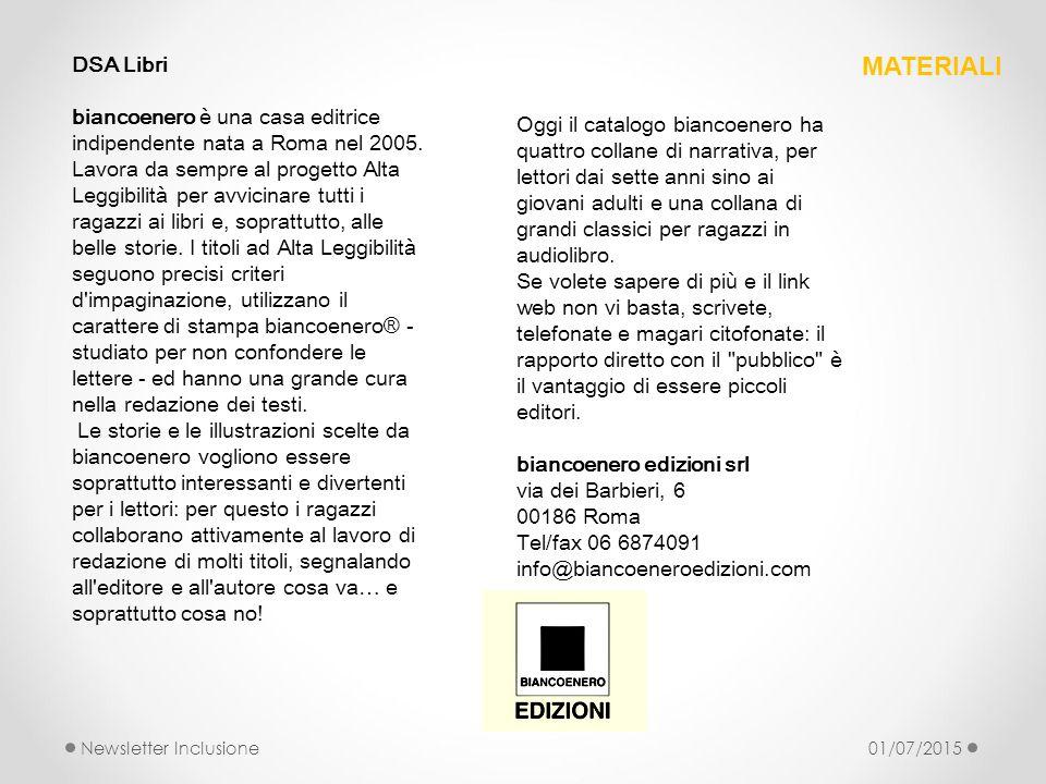 DSA Libri biancoenero è una casa editrice indipendente nata a Roma nel 2005.