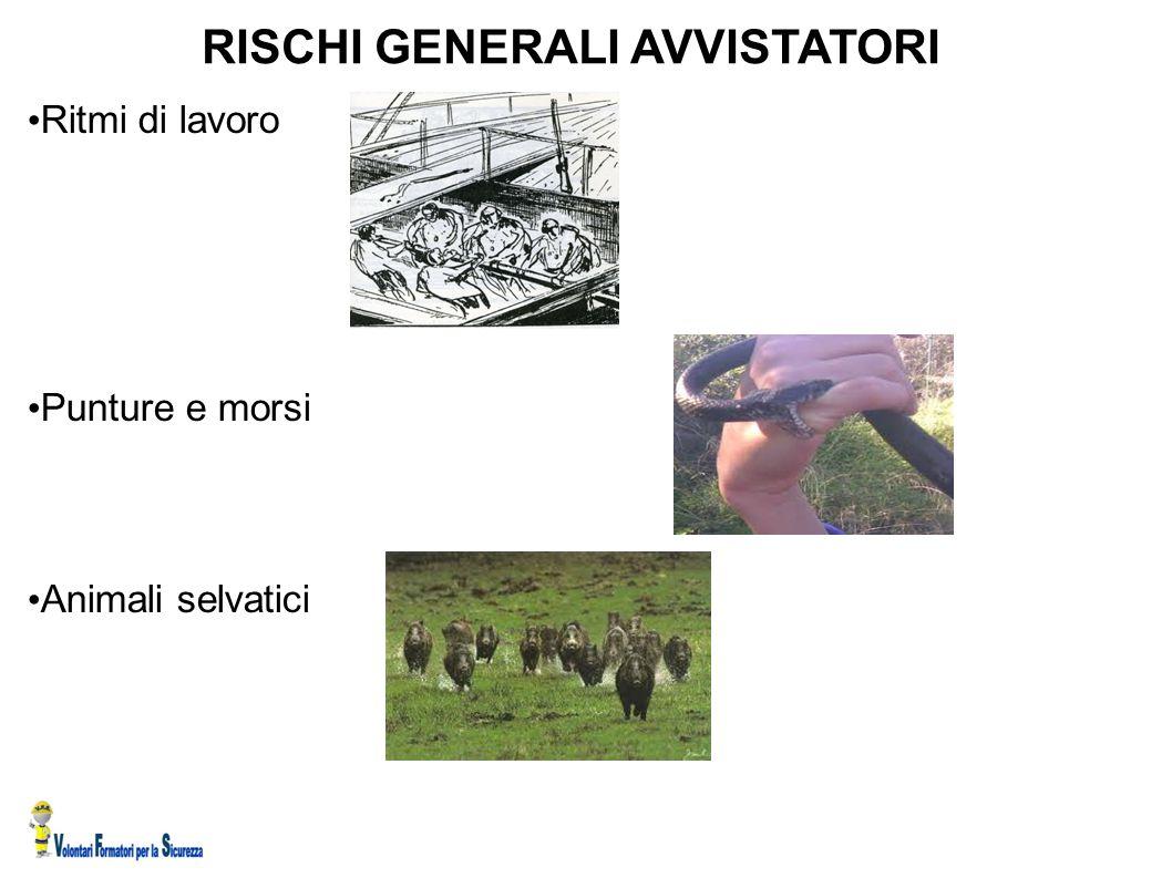 RISCHI GENERALI AVVISTATORI