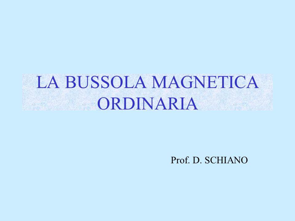 LA BUSSOLA MAGNETICA ORDINARIA