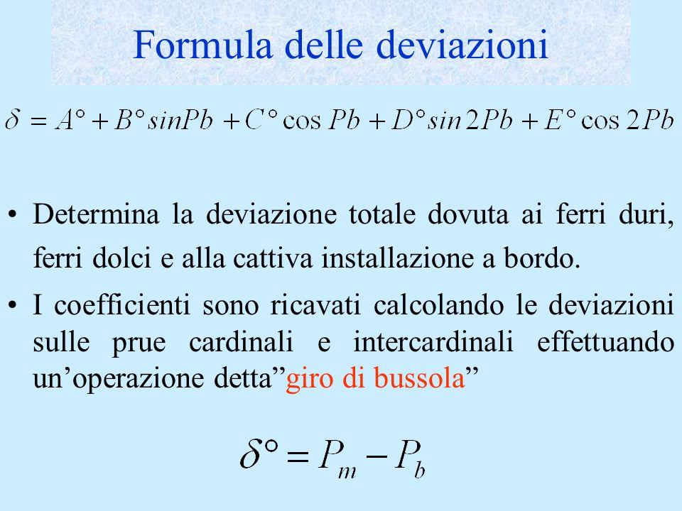 Formula delle deviazioni