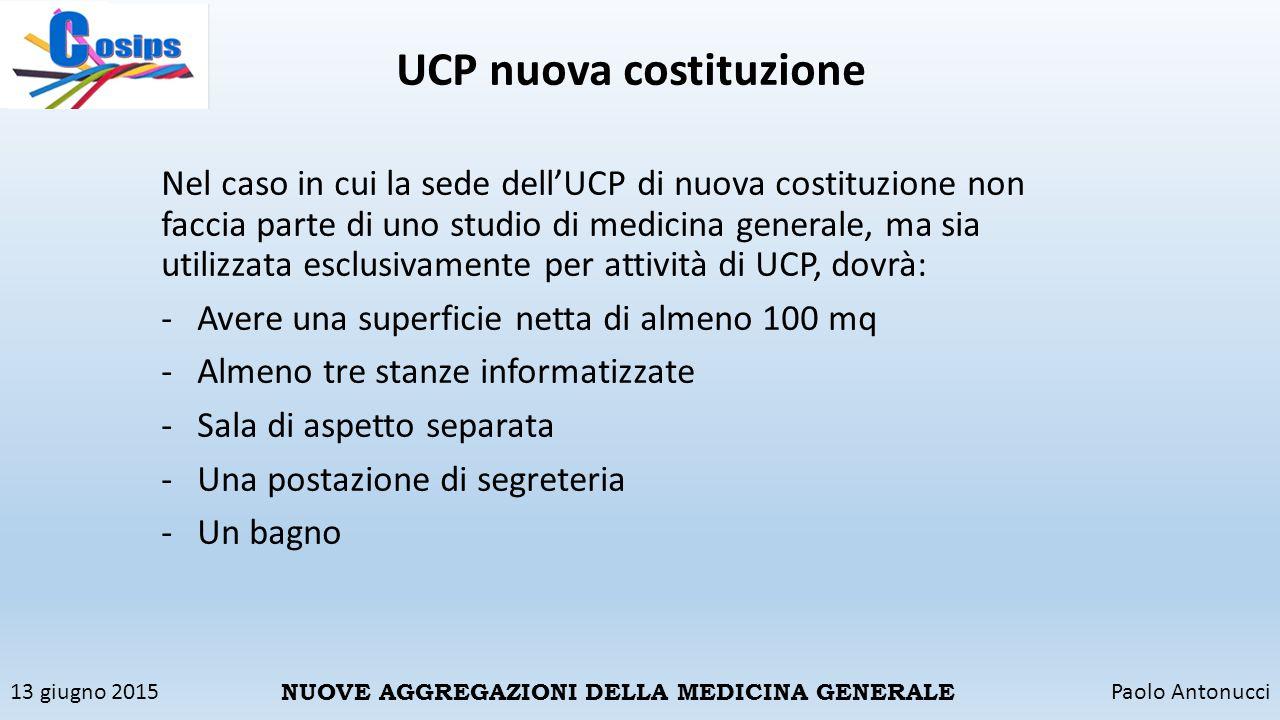 UCP nuova costituzione