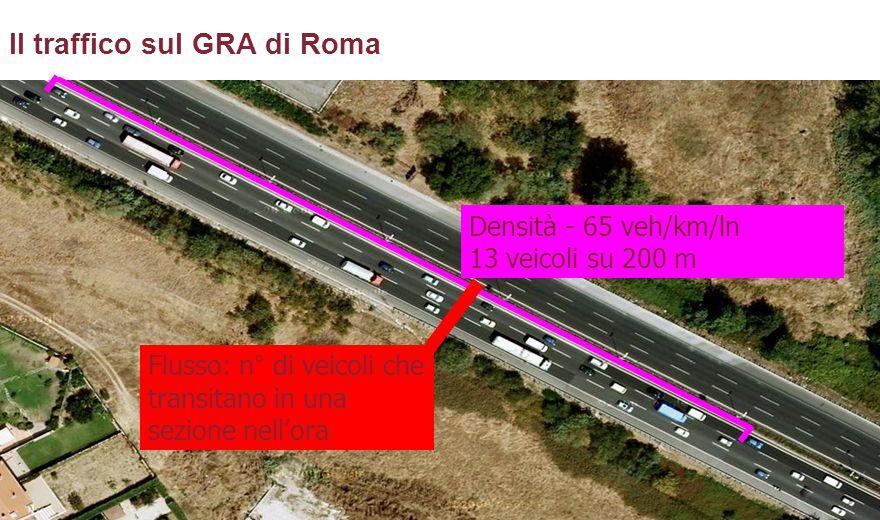 Il traffico sul GRA di Roma