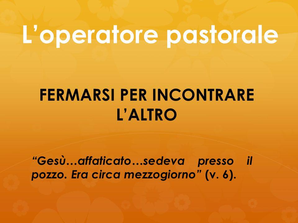 L'operatore pastorale