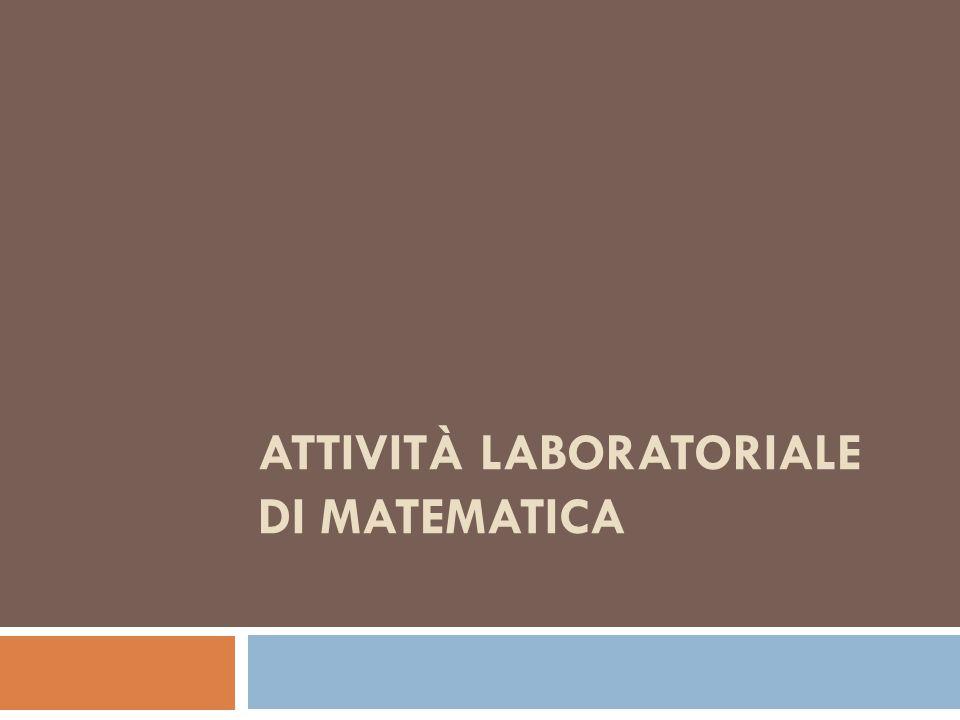 Attività laboratoriale di matematica